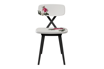 Set 2 X-Chair Flower