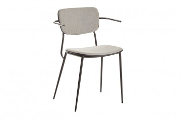 Pavia Fabric Chair with Armrests