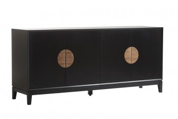 Sideboard Xian black&walnut