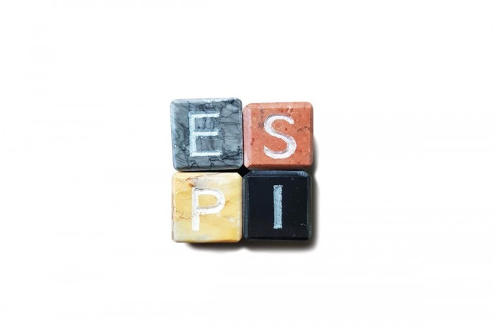 Marble Ice Cubes Party with Initials