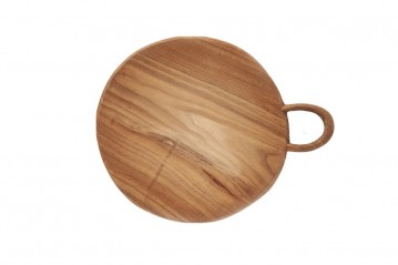 Round Silhouette Cutting Board