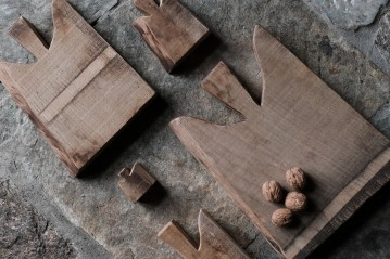 Set of 5 Rustic Boards