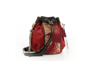 Mini Bucket Bag Litchi