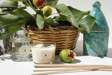 Glass Diffuser Fig Leaves