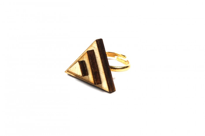 Anello Wooden Triangle