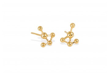 Grafo gold earrings