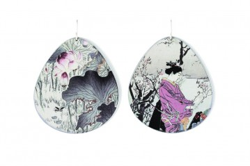 Surimono earrings 028